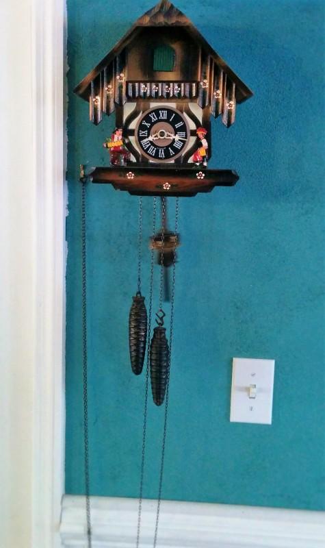 Grandma & Grandpa Bower's Cuckoo Clock